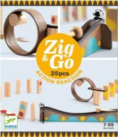 Djeco  Zig & Go 25pcs DJ05642