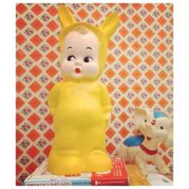 lapin & me lamp bunny yellow