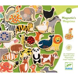 Djeco - magneet dieren van hout DJ03124