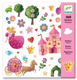 Djeco - stickers - princess