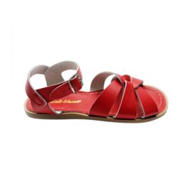 Saltwater sandals rood