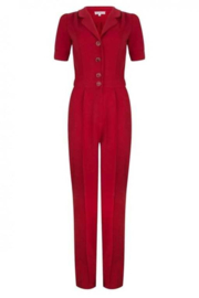 Very Cherry - Classic Jumpsuit deep red