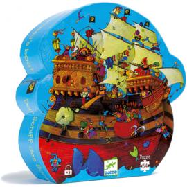 Djeco puzzel - het schip van roodbaard