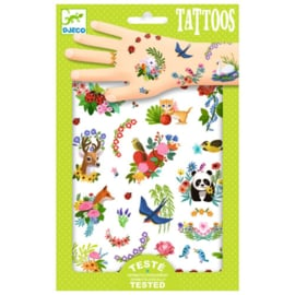 Djeco - tattoos - happy spring