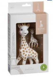 Sophie de giraf - 18 cm en haar sleutelhanger