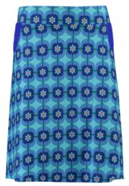 Tante Betsy  Skirt  Retro Daisy Blue