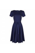 Very Cherry - Ballerina Dress navy