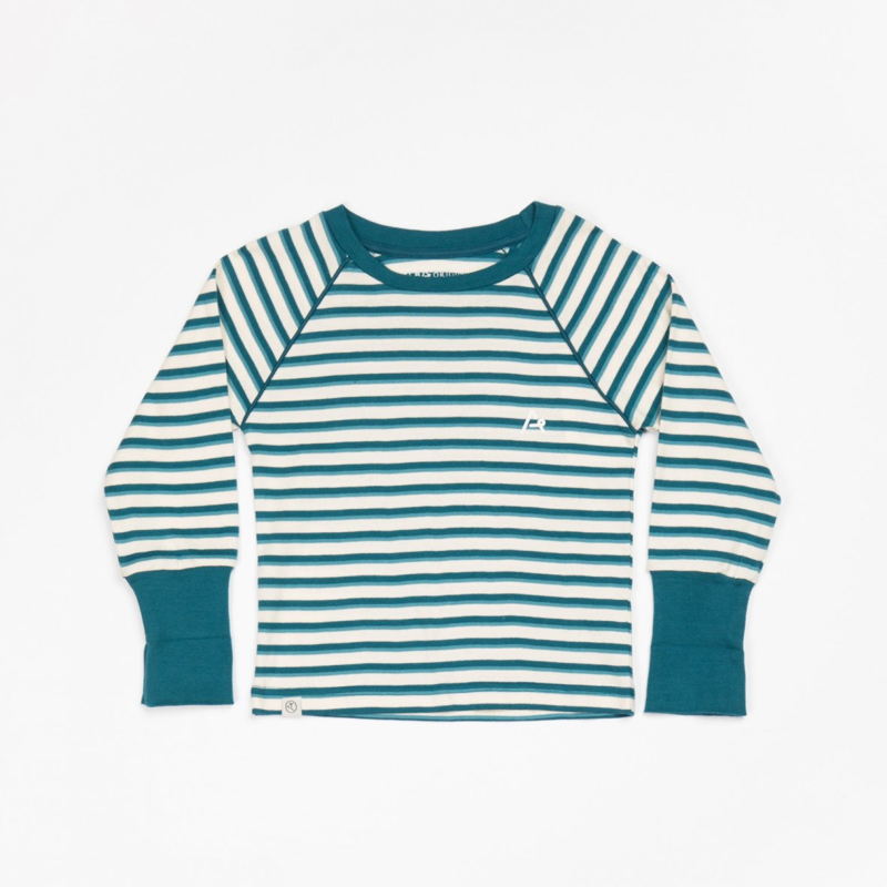 AlbaKid Alpha blouse Blue coral striped