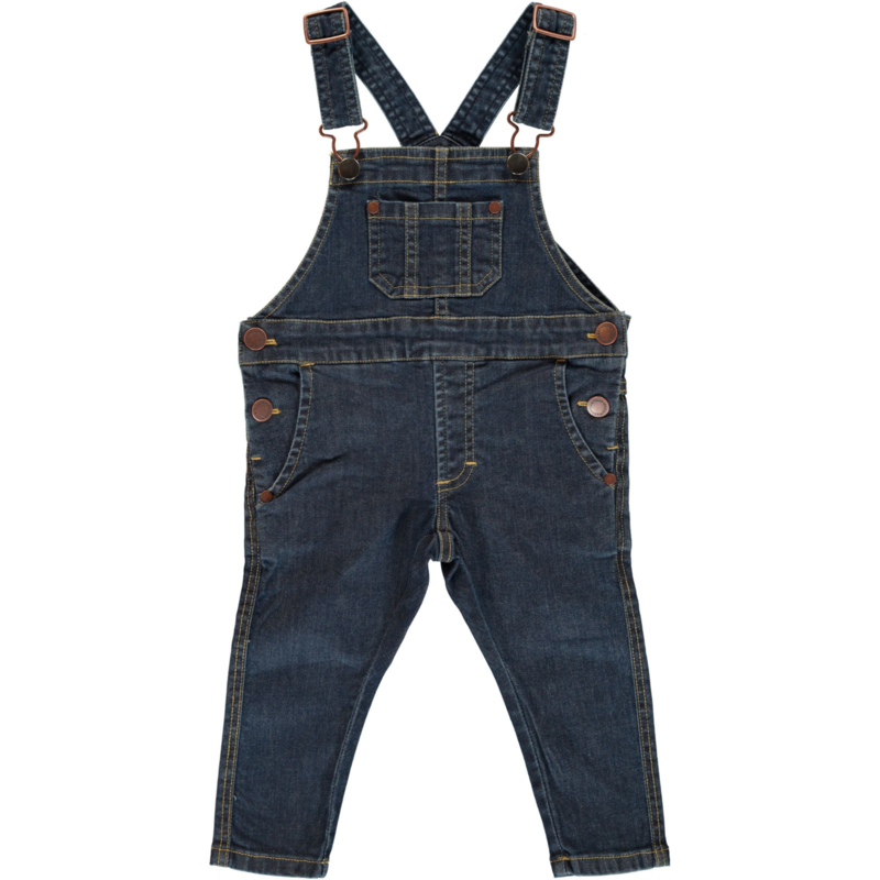 Maxomorra jeans - denim medium dark wash