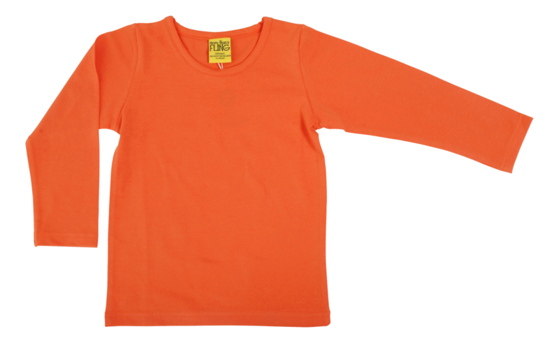 More than a fling - Longsleeve Coral