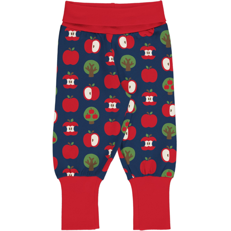 Maxomorra pants - apple