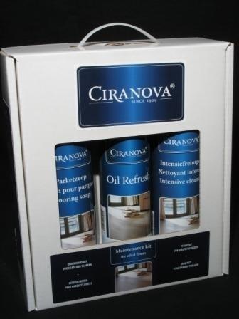 Ciranova onderhoudskit voor geoliede vloeren
