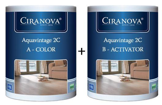 Ciranova Aquavintage 2C 1L + 1L Activator