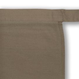 Tablier, Marron, 100x100cm, Polycoton, Treb ADS