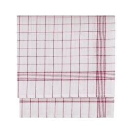 Pano de vidro, meia roupa de cama / algodão, 70x70cm, Treb Towels