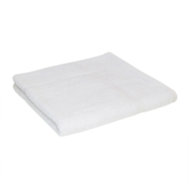 Badmatta, vit, 50x75 cm, 650 gr / m2, 100% bomull, Treb SH