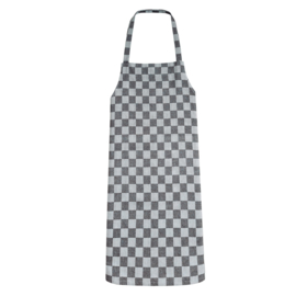Apron, Black and White Checkered, 70x95cm, 100% Cotton, Treb WS