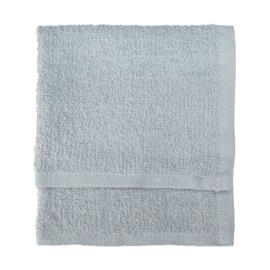 Toallas para invitados, gris claro, 30x30cm, 100% algodón, Treb SH