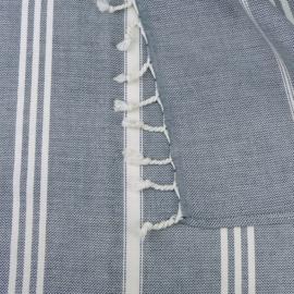Hammam Towel, Blue, 90x145cm, Treb WS