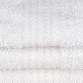 Serviette de Bain, Blanc, 50x100cm, Treb SH
