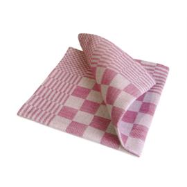 Guardanapos de mesa, xadrez vermelho e branco, 40x40cm, 100% algodão, Treb WS