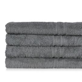 Serviette de bain, gris foncé, 50x100cm, 100% coton, Treb ADH