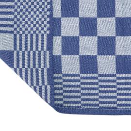 Blokdoeken, Theedoeken, Blauw en Wit Geblokt, 65x65cm, 100% katoen, Treb AD