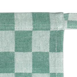 Kurze Schürze, Grün und Weiß Kariert, 60 x 70 cm, 100% Baumwolle, Treb WS