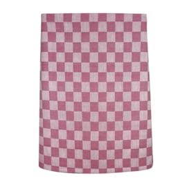 Kurze Schürze, Rot und Weiß Kariert, 60 x 70 cm, 100% Baumwolle, Treb WS