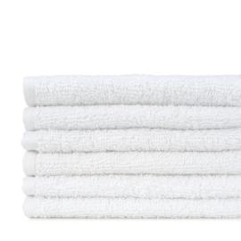 Gästetuch, Weiß, Borderless, 30x30cm, 450 gr / m2, Treb Bett und Bad