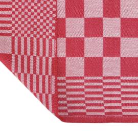 Torchons, Rouge, 65x65cm, 100% Coton, Treb AD