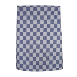 Delantal, cuadros azul y blanco, 60x70cm, 100% algodón, Treb WS