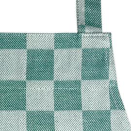 Schürze, Grün und Weiß Kariert, 70x95cm, 100% Baumwolle, Treb WS