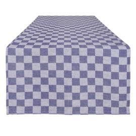 Runner da Tavola, Blu, 50x140cm, 100% Cotone, Treb WS