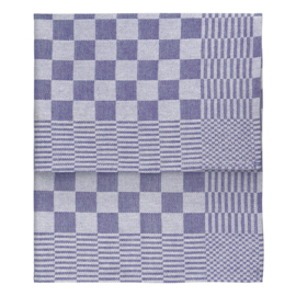 Torchons, Bleu, 65x65cm, 100% Coton, Treb WS