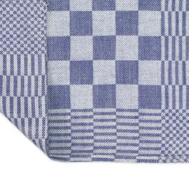Serviettes de Table,  damier bleu et blanc, 40x40cm, Treb WS