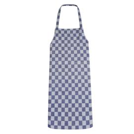 Apron, Blue and White Checkered, 70x95cm, 100% Cotton, Treb WS