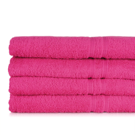 Serviette de bain, Fuchsia, 50x100cm, 100% coton, Treb ADH