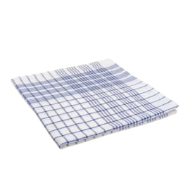 Strofinaccio, Diamante Blu su Bianco, 70x70cm, Treb Towels