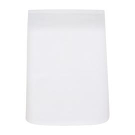 Tablier, Blanc, 80x60cm, Polycoton, Treb ELS
