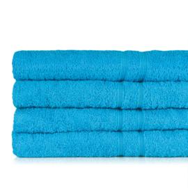 Serviette de bain, turquoise, 50x100cm, 100% coton, Treb ADH