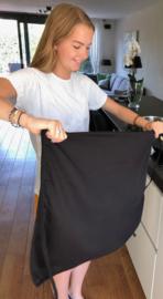 Schürze, Schwarz, 100% Baumwolle, Treb Workwear