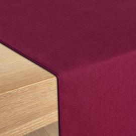 Bordløber, Bordeaux, 30x132cm, Treb SP