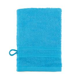 Débarbouillettes, Turquoise, 15x22cm, 100% coton, Treb ADH