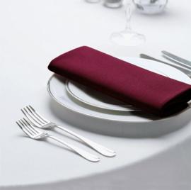 Tischdecken, Runde, Weiß, 163cm Ø, Treb SP