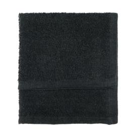 Toallas para invitados, Negro, 30x30cm, 100% Algodón, Treb SH