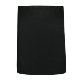Delantal, Negro, 80x60cm, Polycotton, Treb ELS