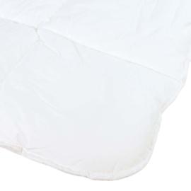 Couette, Blanc, 140x220cm, Coton Percale, Treb ADH