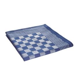 Ręczniki kuchenne, ściereczki kuchenne, niebiesko-biała kratka, 65x65 cm, 100% bawełna, Treb AD