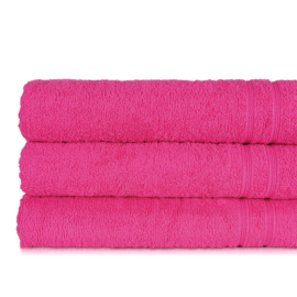 Serviette de bain, Fuchsia, 70x130cm, 100% coton, Treb ADH